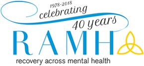 Logo for RAMH (Recovery Across Mental Health)