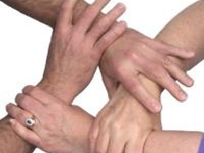 Hands Getting Together