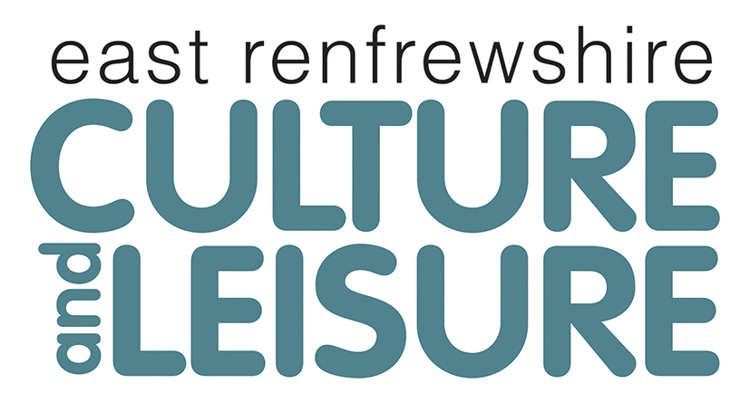 The logo of East Renfrewshire Culture and Leisure Trust